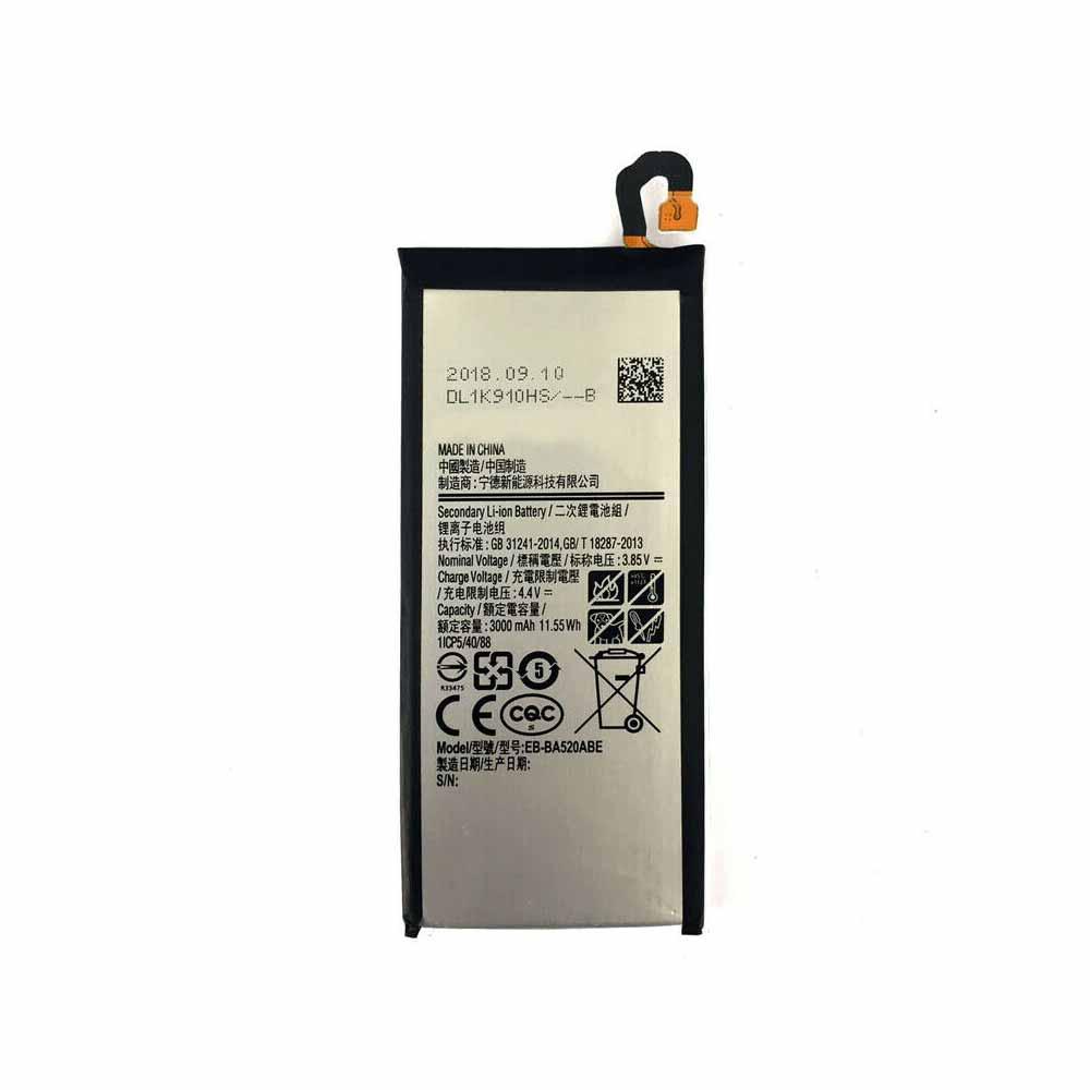 replace EB-BA520ABE battery