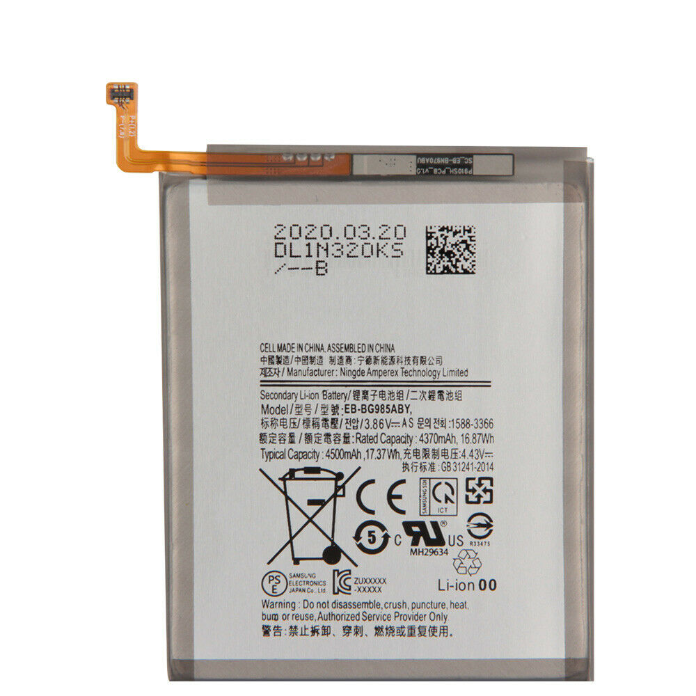 replace EB-BG985ABY battery