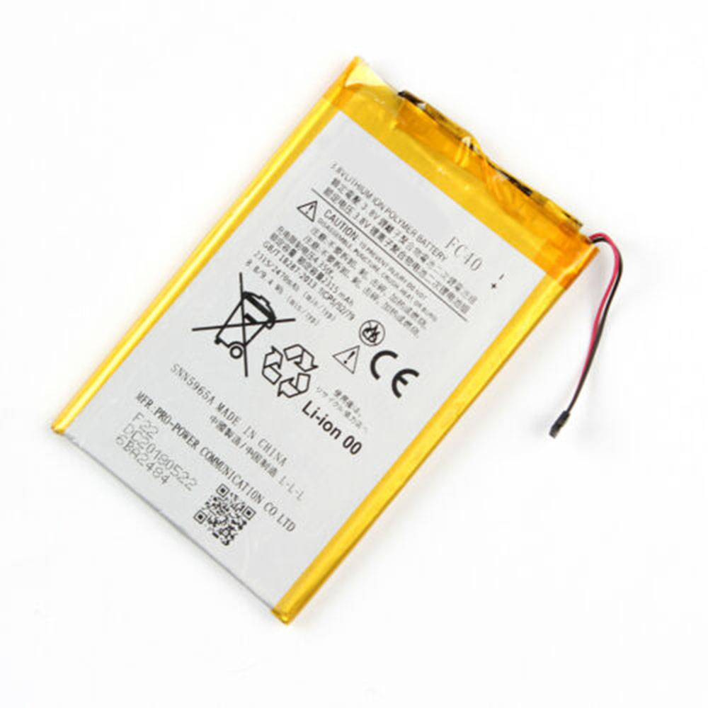 replace FC40 battery