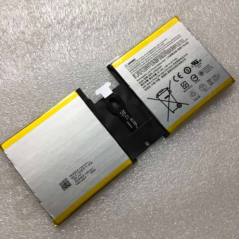 G16QA043H Replacement  Battery