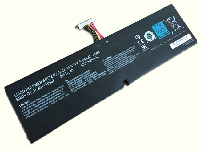 GMS-C40 Replacement laptop Battery