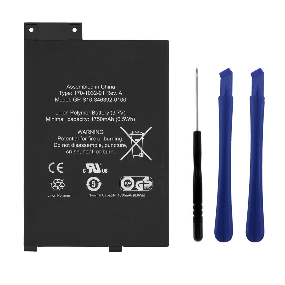 GP-S10-346392-0100 Replacement  Battery