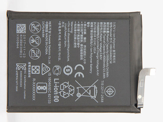 HB436486ECW Replacement  Battery