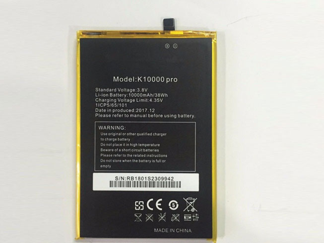 K10000 Replacement  Battery