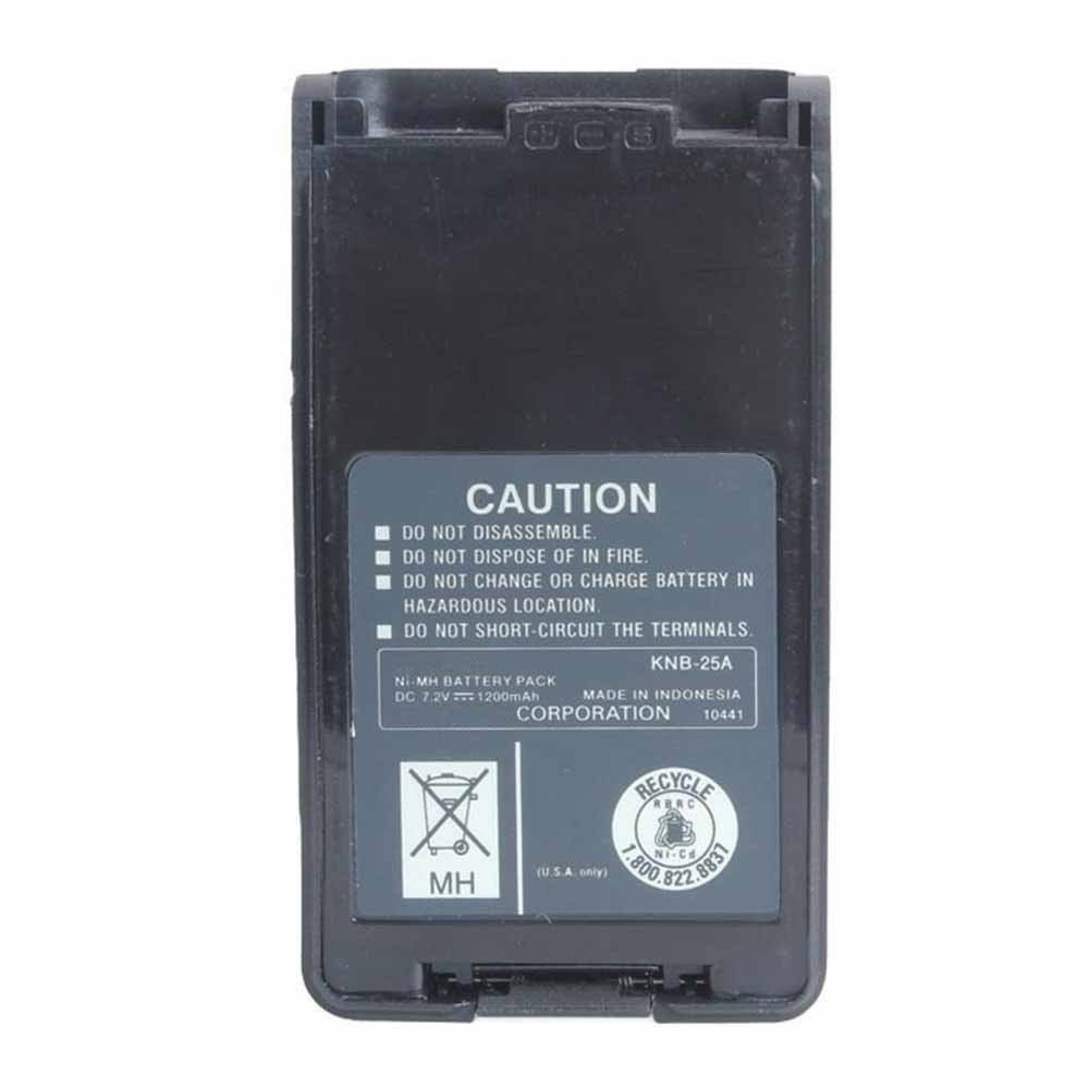 replace KNB-25A battery