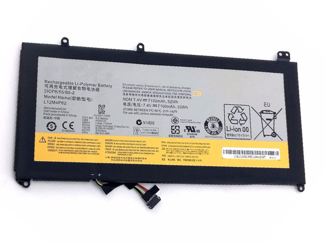 L12M4P62 Replacement laptop Battery