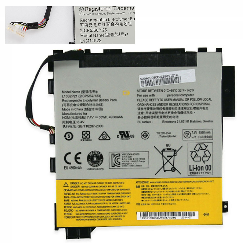 replace L13S2P21 battery