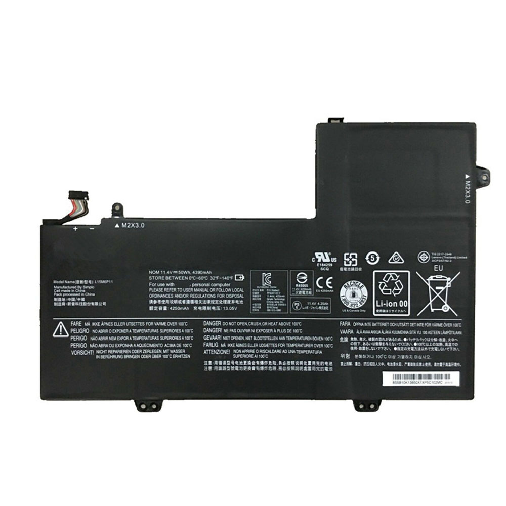 L15M6P11 Replacement laptop Battery