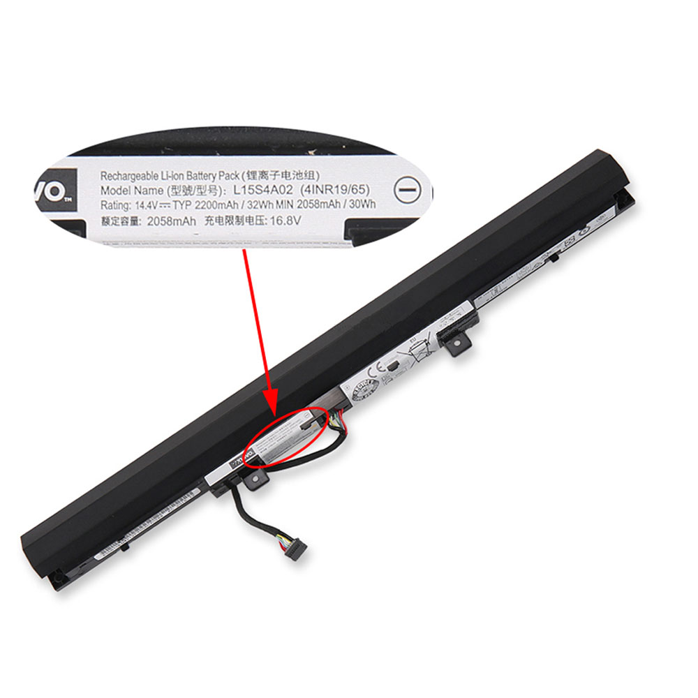 L15S4E02 Replacement laptop Battery