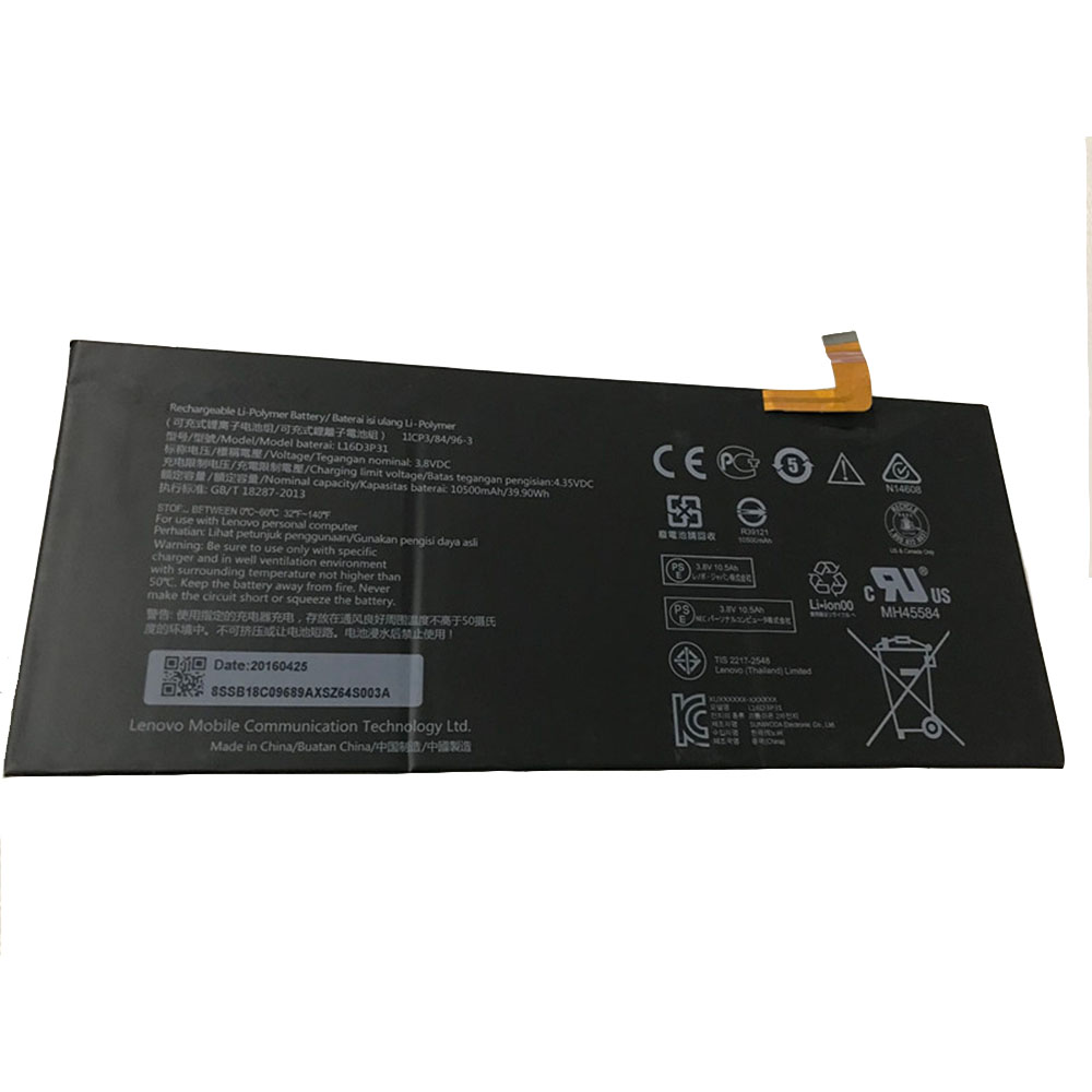 L16D3P31 Replacement  Battery