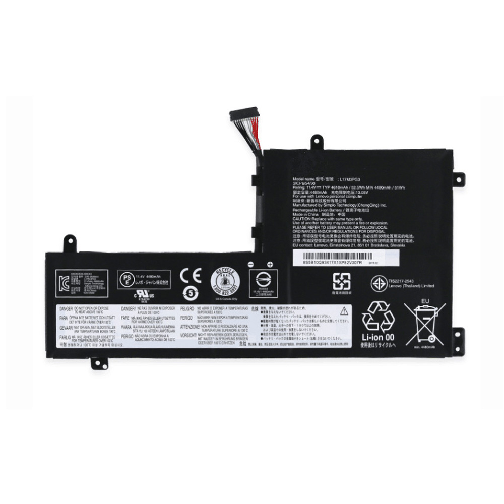 L17M3PG2 Replacement laptop Battery