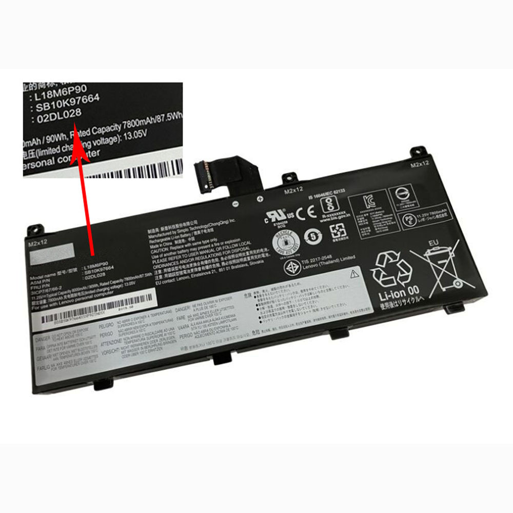 replace L18C6P90 battery