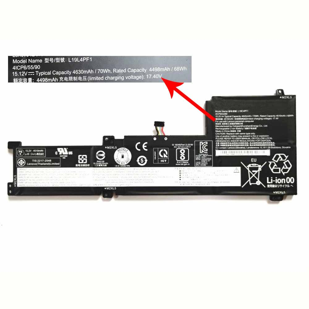 replace L19C4PF1 battery