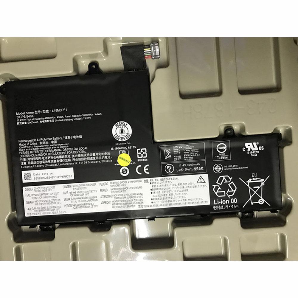 replace L19M3PF1 battery