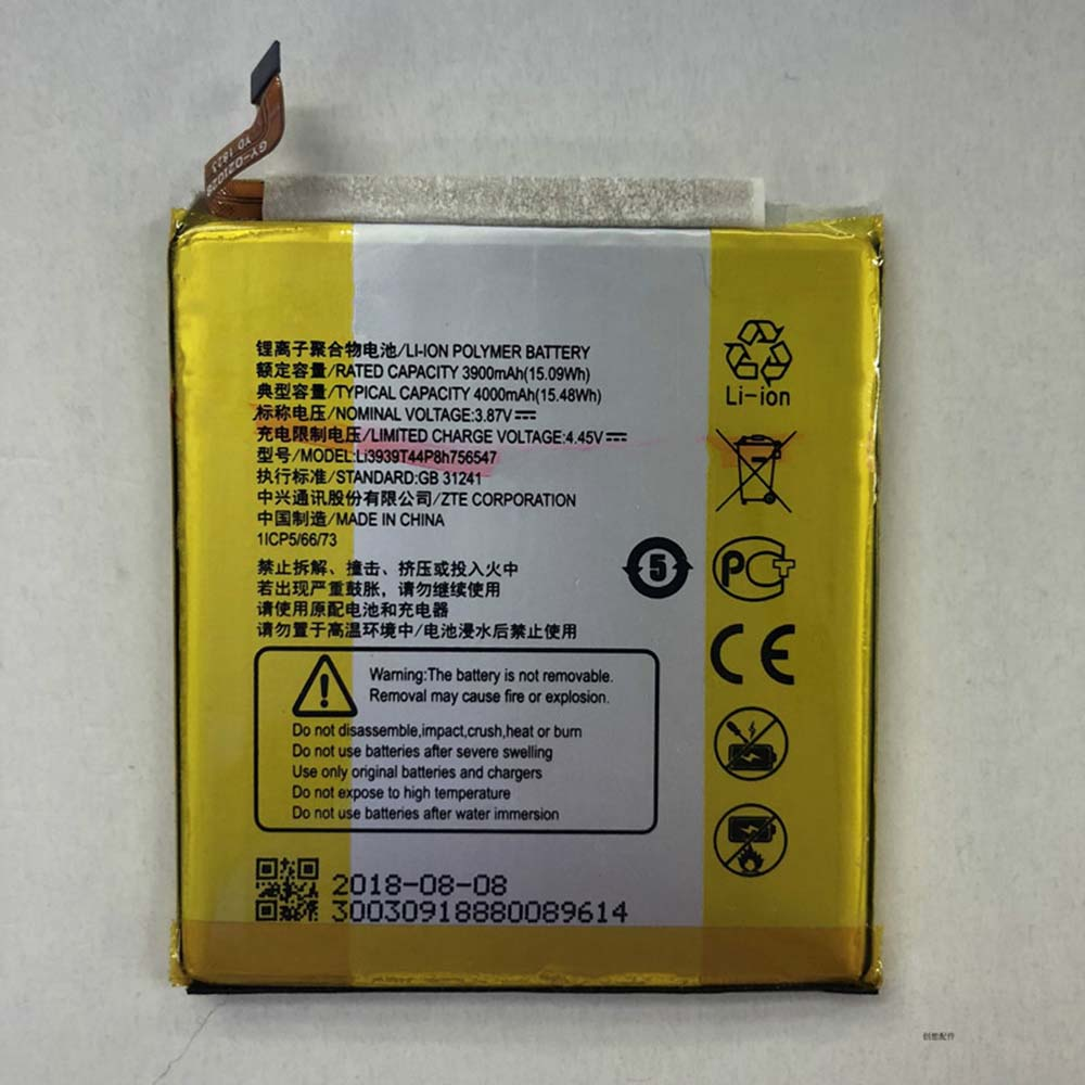 Li3939T44P8h756547 Replacement  Battery