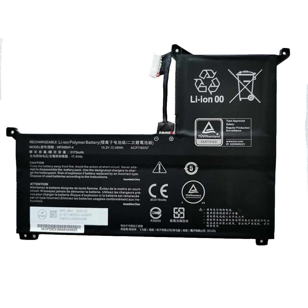 replace NP50BAT-4 battery