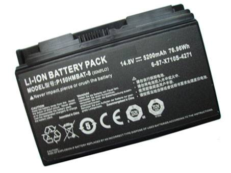 6-87-X710S-4J72 Replacement laptop Battery