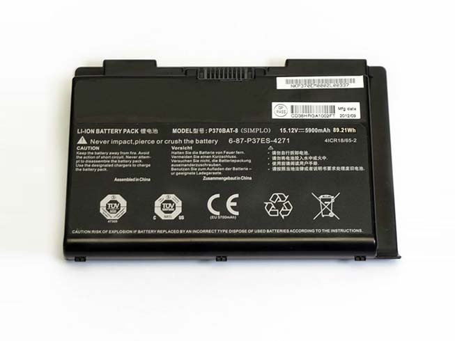 P370BAT-8 Replacement laptop Battery