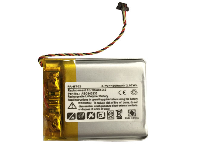 AEC643333 Replacement  Battery