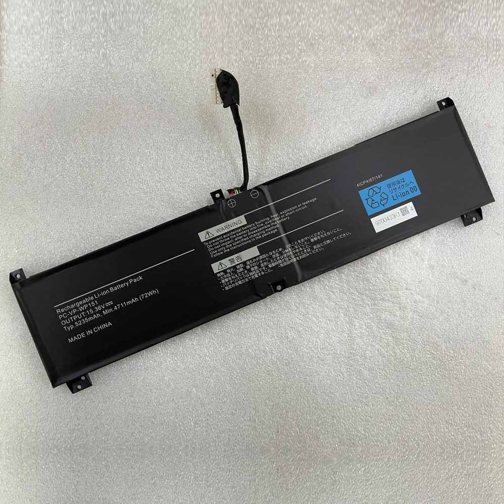 replace PC-VP-WP151 battery