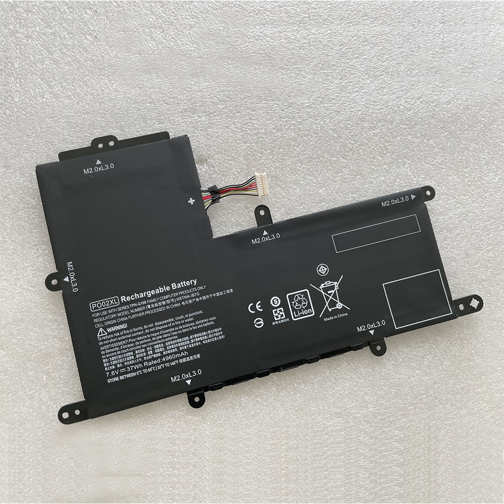 replace PO02XL battery