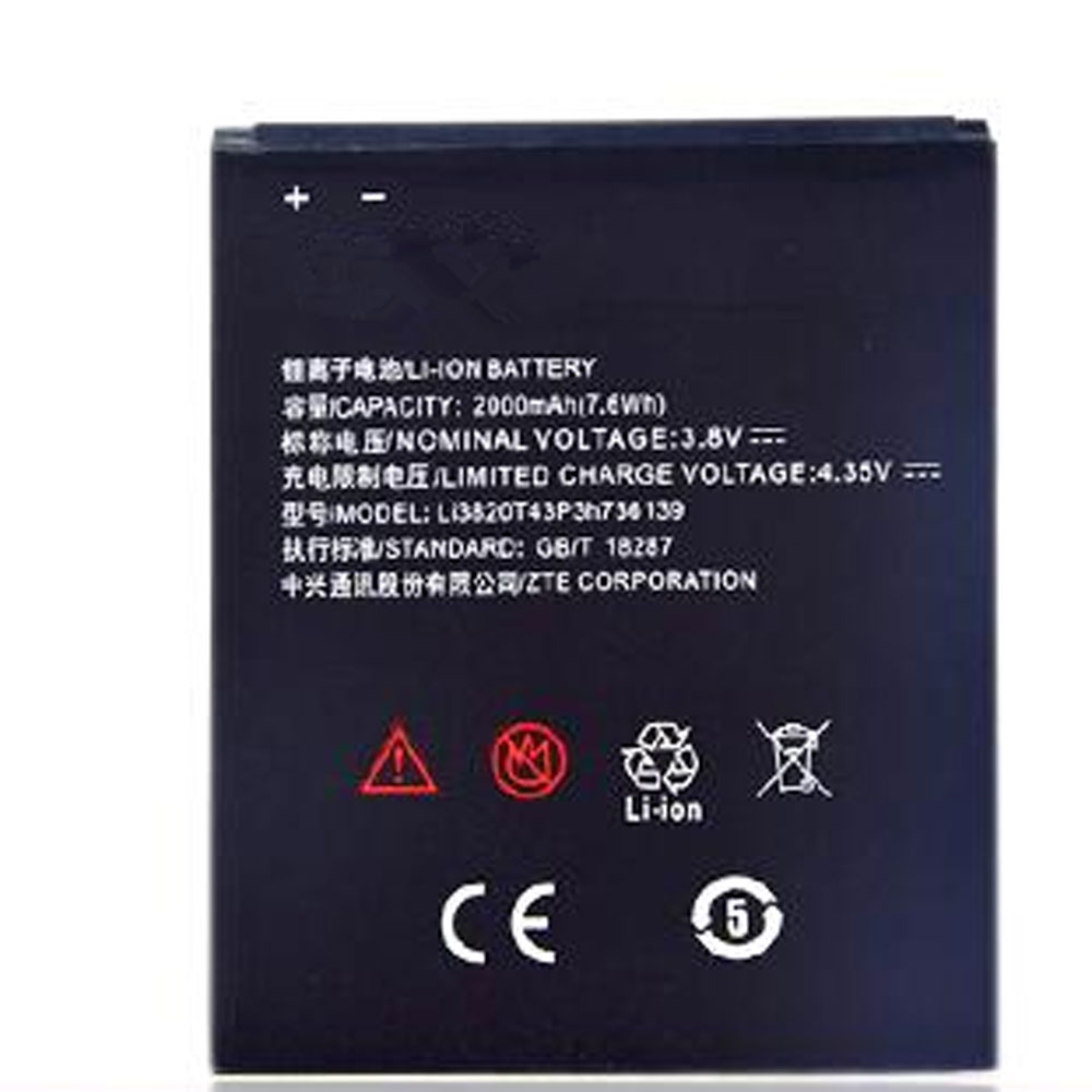 Li3820T43P3h736139 Replacement  Battery