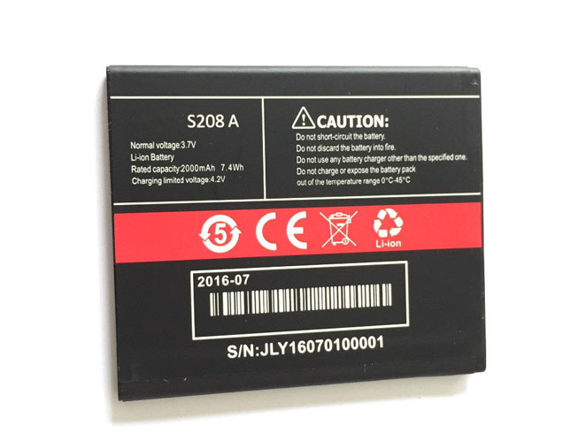 S208A Replacement  Battery