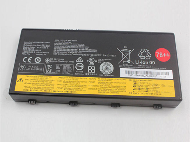 00HW030 Replacement laptop Battery