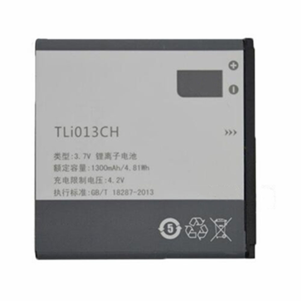 replace TLI013CH battery