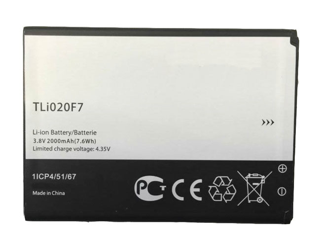 TLI020F7 Replacement  Battery
