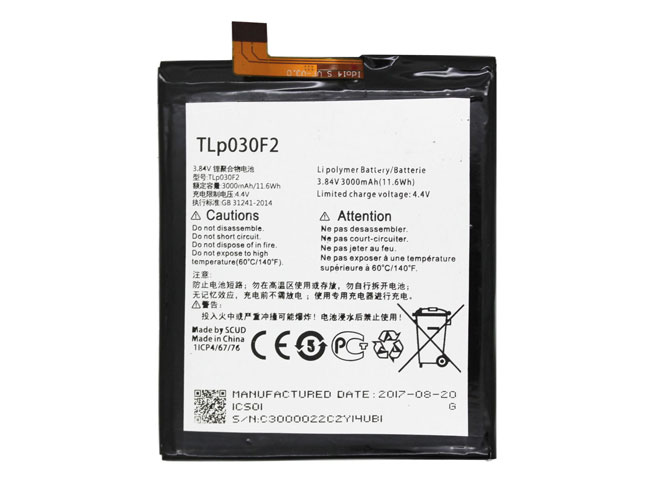TLP030F2 Replacement  Battery
