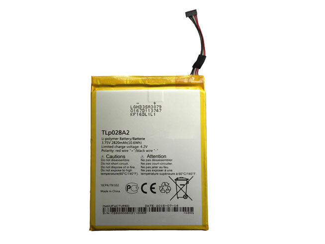 TLp028AD Replacement  Battery