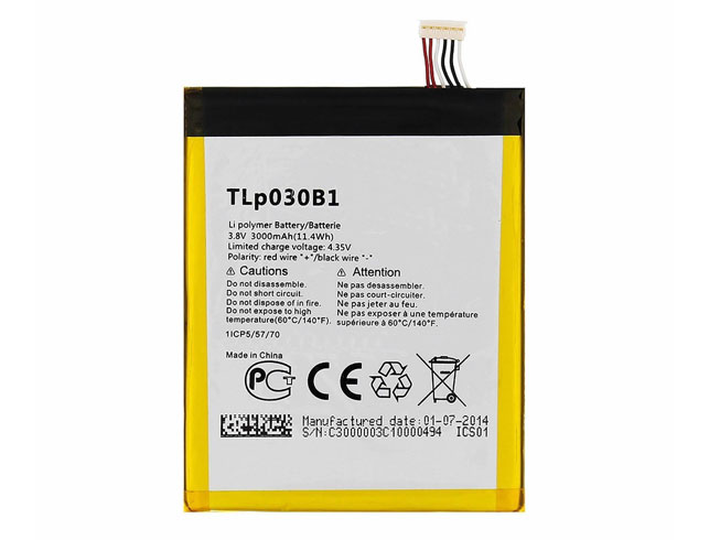 TLp030B1 Replacement  Battery