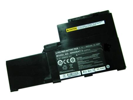 6-87-W870S-421A Replacement laptop Battery