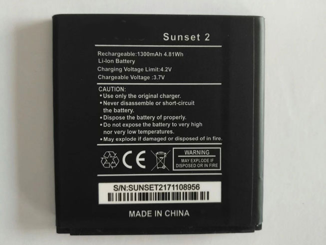 replace Sunset battery
