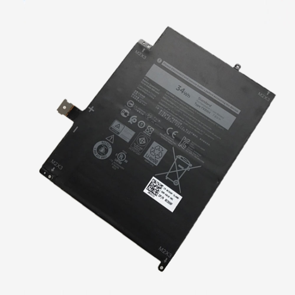 YX0XH Replacement  Battery