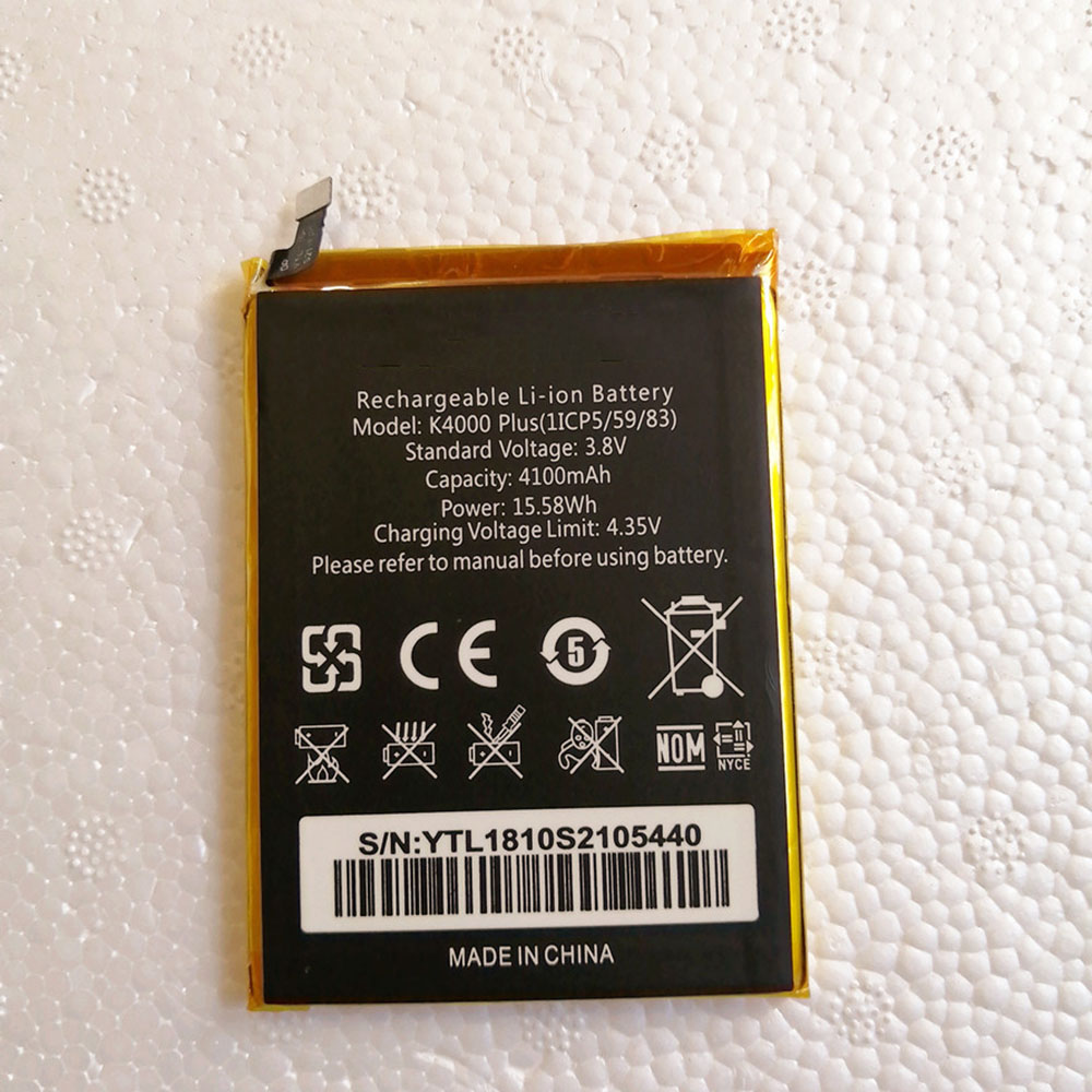 K4000_Plus Replacement  Battery