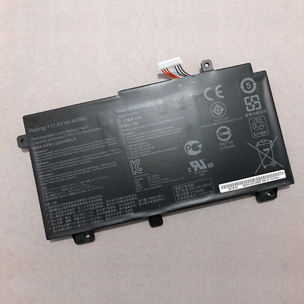 replace B31N1726 battery