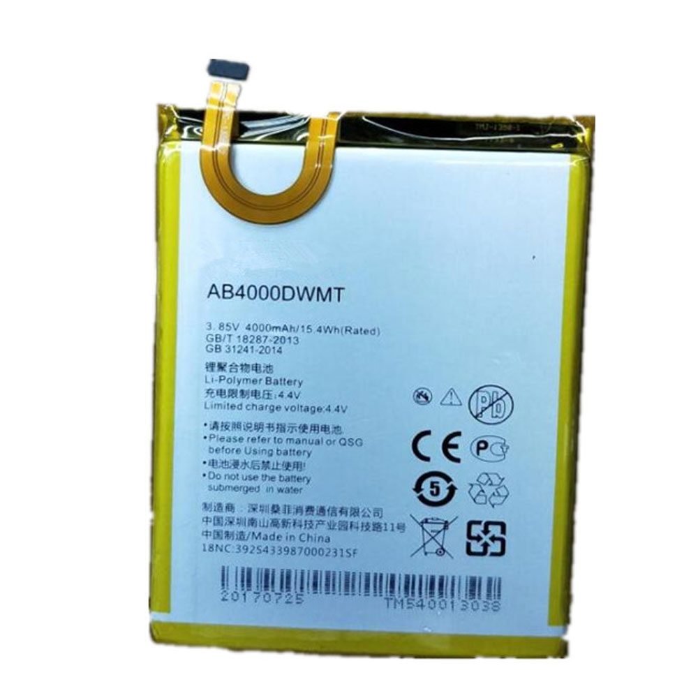 replace AB4000DWMV battery