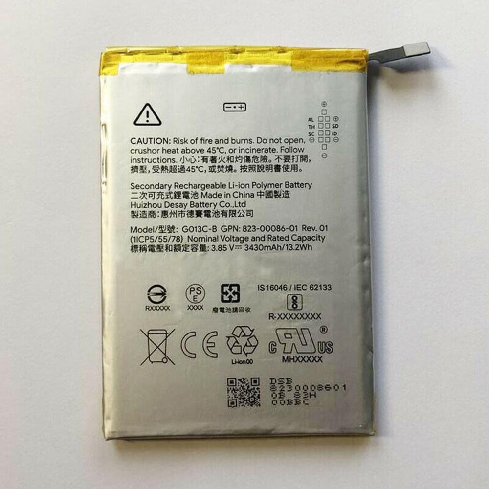 replace G013C-B battery