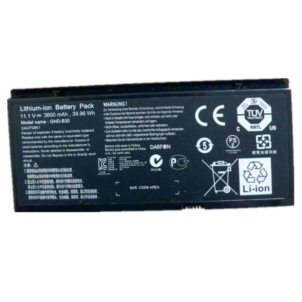 replace GND-B30 battery
