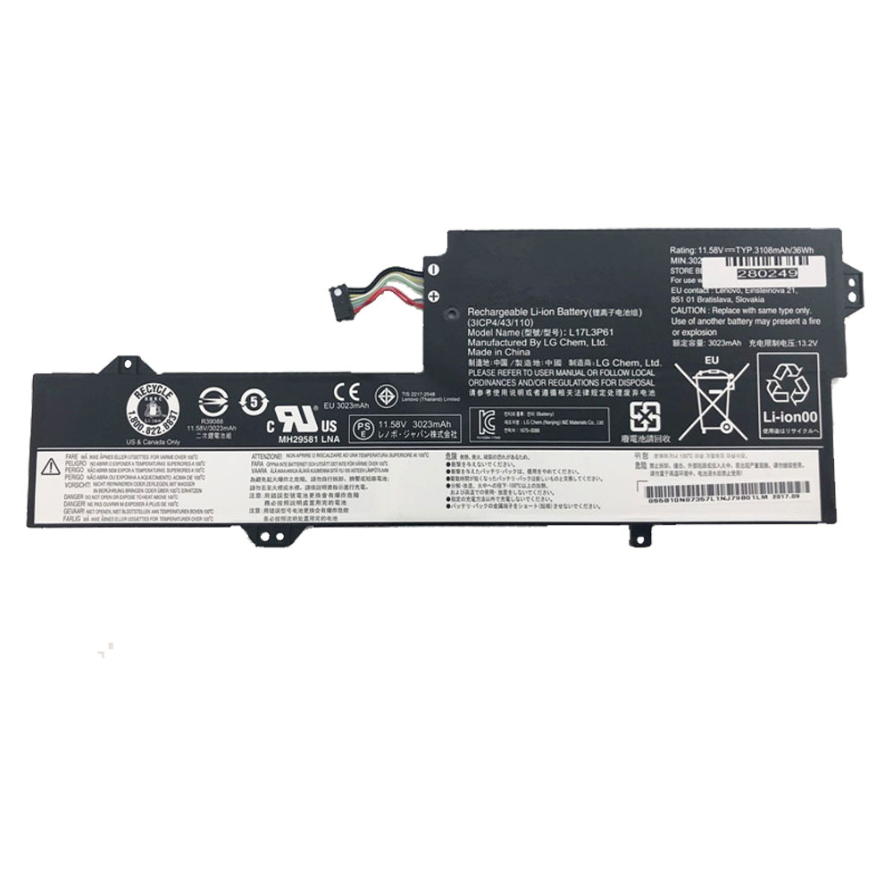 replace L17L3P61 battery