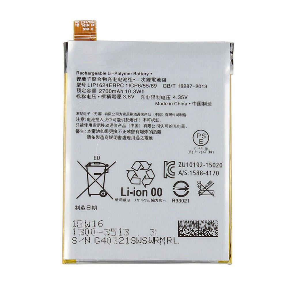 replace LIP1624ERPC battery