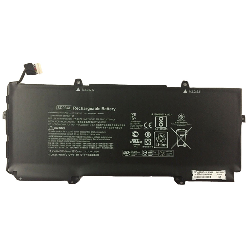 replace SD03XL battery